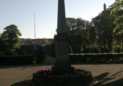 Monument for de faldne soldater i 1864.