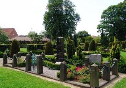 Gamle kirkegård - Gravsted.