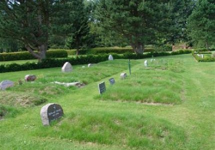 Muslimske gravpladser.